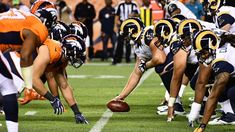 Expect the NFL to announce the 2018 regular season schedule sometime before the draft. Nfl Games Today, Online Games, Denver Broncos, Football, Seasons, Schedule, Timeline, Futbol, American Football