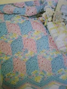 Crochet Pattern Central - Free Baby Afghan Crochet Pattern Link