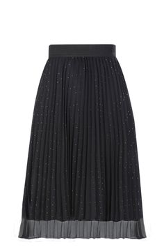 Linx Sunray Pleated Skirt With Bottom Eyelash Lace Panel Black | GirlyBottoms | Pinterest | Lace ...