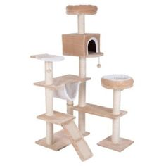 XXL Cat Tree with Ladder Gingerbread House