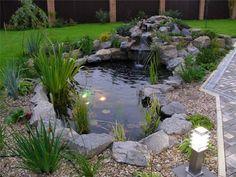 teich h Mehr (backyard landscaping pond) Outdoor Ponds, Ponds Backyard, Outdoor Gardens, Plastic Pond, Small Water Gardens, Garden Pond Design, Pond Water Features, Pond Waterfall, Natural Pond