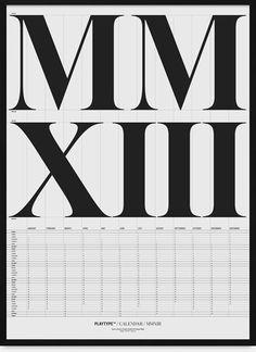 CalendarMXIII - White