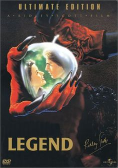 "Original Motion Picture Soundtrack from the Ridley Scott Film ""Legend"" Music Composed and Conducted by Jerry Goldsmith We Movie, 80s Movies, Great Movies, Awesome Movies, Tom Cruise, Movies Showing, Movies And Tv Shows, Ridley Scott Movies, Robert Picardo"