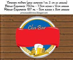 Kit Festa Chá Bar Para Imprimir Grátis