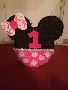 Minnie Mouse pinata:]]