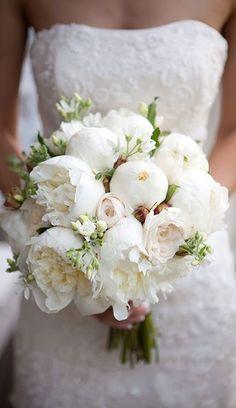 Peony Wedding Bouquet