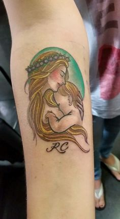 My first tattoo....to commemorate the time spent with my babies...nourishing them, loving them, and bonding....I will forever miss the times when you were tiny and in my arms all day long <3 #breastfeeding #nursing #tattoo