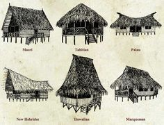Stay in a thatched beach hut with luxury! Utterly romantic and perfect for a honeymoon, there's no resort in Hawaii with as much ecological diversity. Bamboo Architecture, Vernacular Architecture, Beach Cottage Style, Beach Cottage Decor, Beach Shack, Beach Huts, Hawaii Resorts, Tiki Hut, Tiki Tiki