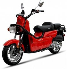 BMS Astro RED Gas Single Cylinder 4 Stroke Automatic Moped Scooter by BMS. $1888.00. Features:  - 8.5 HP /4 stroke SOHC/ Air cooled  - Honda Locus style of street motorcycle  - Fully Automatic (CVT)  - Deni Carburetor  - Front & Rear Hydraulic Disc Brakes  - Stainless steel Bolts & Nuts  - Dual Stage Paint Treatment  - Front Anti-Brake Pump / Folding seat for passenger  - Alarm, Anti-theft System  - Halogen Bulbs / Kill Switch  - Chrome Engine Cover   WARRANTY: ...