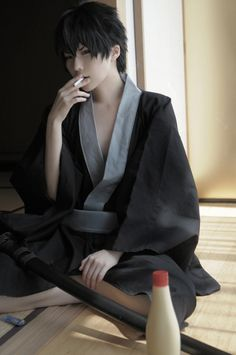 cosplay | Hijikata Toushiro - Gintama, Cosplay by Kuryuu #repin