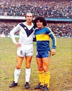 Carlos Bianchi & Diego Maradona