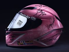 A 'Stop-Cancer' helmet signed by 12 past and present MotoGP stars has been auctioned for a record-breaking €255,000. But look at the list of names will you:  Signed by Giacomo Agostini, Angel Nieto, Valentino Rossi, Jorge Lorenzo, Marc Márquez, Dani Pedrosa, Wayne Rainey, Loris Capirossi, Àlex Crivillé, Wayne Gardner, Scott Russell and Randy Mamola  More here: http://www.crash.net/motogp/news/212459/1/helmet-signed-by-motogp-stars-sets-record.html