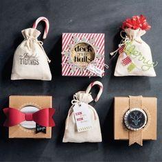 kleine Geschenke speziell und individuell verpacken - Ideen und Anleitung