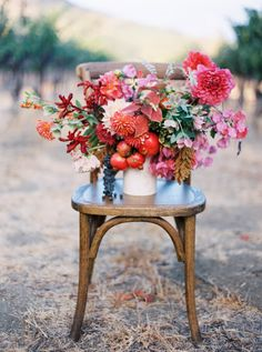 Fall flowers: http://www.stylemepretty.com/vault/search/images/Flowers