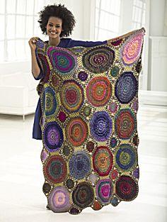 Crochet Kit: Kaleidoscope Afghan (Image1)