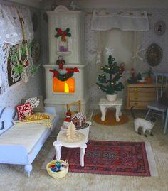 Christmas tree ornament, joulukuusenkoriste, nukkekoti, dollshouse, dollhouse, miniatyyri, miniatures, miniature, 1.12, 1/12