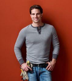 "Scott McGillivray.  Hunk Host of HGTV's ""Income Property"". He's adorable!"