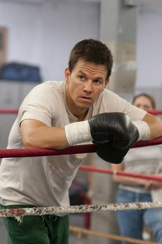 Mark Wahlberg Signed Horizontal Leaning on Rope 'The Fighter' Photo (PSA/DNA)We first knew him as Marky Mark but Mark Wahlberg has come a long way since b Actor Mark Wahlberg, Donnie Wahlberg, Wahlberg Brothers, Best Supporting Actor, I Like Him, Great Movies, Gorgeous Men, Beautiful People, Pretty People