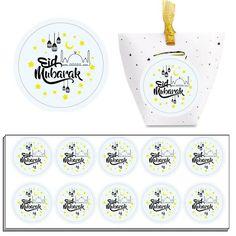 Design 2 Eid Mubarak Ramadan Fancy Cut Vinyl Decal//Sticker