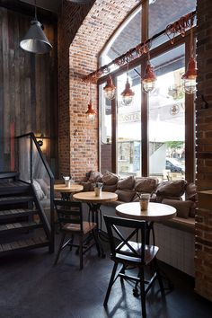 True Burger Bar (Kiev, Ukraine) by anya garienchick, via Behance
