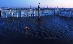 Saint Petersburg, Dvortsovaya Square, Ermitage Wonders Of The World, Great Places, Russia, Saints, Louvre, Building, Saint Petersburg, Travelling, Anna