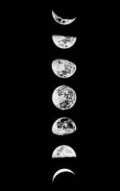 phases of the moon tumblr - Buscar con Google