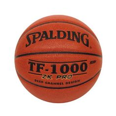 Spalding TF-1000 ZK Pro Official Size Basketball by Spalding. $69.99. Product Description                A Division of Russell Brands, LLC, Spalding is the largest basketball equipment supplier in the world, and America's first baseball company. Spalding is the official basketball of the National Basketball Association (NBA) and Women's National Basketball Association (WNBA), the official backboard of the NBA and NCAA, the official baseball of the Little Leagu...