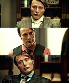 That not quite there smirk makes me want to smack him and make out with him at the same time DAMMIT HANNIBAL