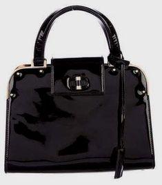 4c83c9814b51 Prada Saffiano Vernice Bugatti Top Handle Bag....perfect little black bag!