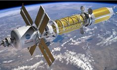 Is the future of space NUCLEAR? Nasa is developing new rockets to send astronauts to new corners of the solar system | Nasa engineers are planning to build a new nuclear powered spacecraft called Copernicus (pictured) that could half the time it takes to travel to Mars. [Mars in the Future: http://futuristicnews.com/tag/mars/ Space Future: http://futuristicnews.com/category/future-space/ & http://futuristicshop.com/category/space-future-books/ NASA: http://futuristicnews.com/tag/nasa/]