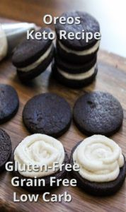 low carb oreo cookies recipe