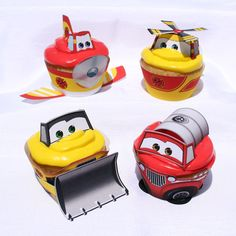 Fire and Rescue Cupcake Wrapper SET Instant by Printamajig on Etsy