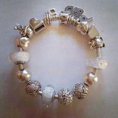 Pandora bracelet white #family