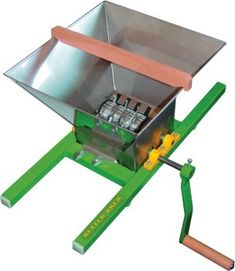 Boxed Fruit Crusher with 7 Litre Hopper Apple Cider Press, Homemade Cider, Making Apple Cider, Distillery, Brewery, Wine Press, Home Brewing Equipment, Brew Pub, Fruit Trees