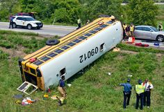 """A Kansas Highway Patrol report on the Aug. 21 bus crash near Bonner Springs that injured 22 children from Pembroke Hill School says the driver's medical condition """"directly impacted"""" the cause of the accident. Witnesses said the driver appeared to be asleep when the students were boarding."""