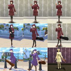 Il clan di Mo — Autumn Girl Pose (pose, Accessories, & outfit)...