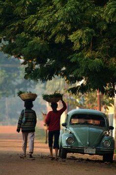 Vendedoras de verduras y yuyos...Paraguay