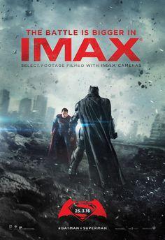 CIA☆こちら映画中央情報局です: BatmanvSuperman:ザック・スナイダー監督の「バットマンVスーパーマン : ドーン・オブ・ジャスティス」が、格闘に長けたダークナイトが、実は腕力でカル=エルに勝る驚きのカットを披露した最終版の予告編と、IMAX版の新しいポスターをリリース!! - 映画諜報部員のレアな映画情報・映画批評のブログです