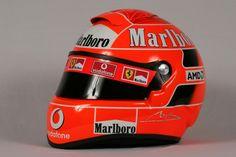 Michael Schumacher helmet Cool Motorcycle Helmets, Racing Helmets, Cool Motorcycles, Ferrari Scuderia, Ferrari F1, Michael Schumacher, Formula 1, Jochen Rindt, Helmet Visor