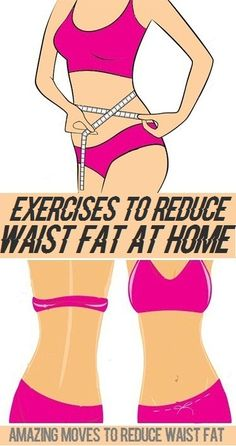 Exercises to Reduce Waist Fat at Home..