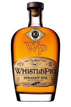 Who takes it neat.  Straight rye whiskey ($75) by Whistlepig, mashandgrape.com