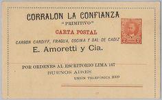 Argentina-Tarjeta Postal Stationery: Juárez Celman Tipo-privado reimpresión! | eBay
