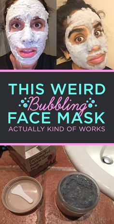 We Tried That Bubbling Face Mask And This Is What It Was Like