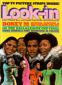 March 1979 Boney M, 1970s Childhood, Old Comics, Vintage Magazines, Great Stories, Comic Covers, Comic Character, Vintage Prints, Cool Kids