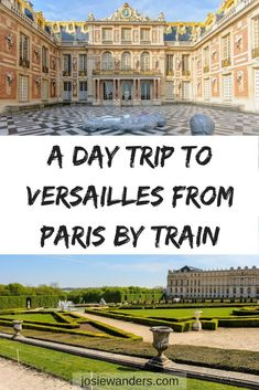 A Day Trip to Versailles from Paris Here's how to get from Paris to Versailles by train and what to see once you get there. Includes how to buy tickets once you arrive Paris France Travel, Paris Travel Tips, Europe Travel Guide, Travel Goals, Travel Things, Travel Guides, Travel Destinations, Trianon Palace Versailles, Visit Versailles