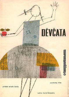 a Czech film poster