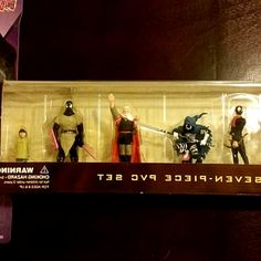 This PVC figure set features the seven major incarnations of Grendel from Matt Wagner s original Grendel Cycle. Hunter Rose, Christine Spar, Brian Li Sung, Eppy Thatcher, Orion & Jupiter Assante,. Publication Date: December 18, 2002; Format: 7 piece full-color PVC set; Price: $34.99; ISBN-10: 1-59617-061-1. UPC 761568118759 is associated with product Grendel PVC Set, find 761568118759 barcode image, product images, UPC 761568118759 related product info. #hero #comics #DCComics #DC #Marvel…