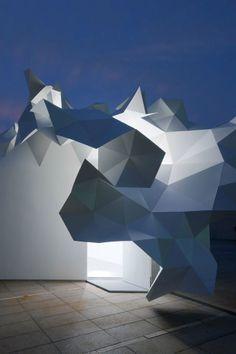 El Pabellón Bloomberg por la Oficina de Arquitectura Akihisa Hirata en Tokio, Japón - interesting texture