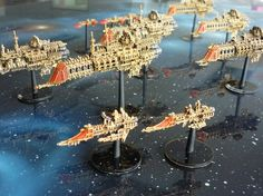 Imperial Fleet - Battlefleet Gothic Battle Fleet, Battlefleet Gothic, Different Races, Space Games, Bfg, Game Workshop, Geek Out, Warhammer 40000, Space Crafts