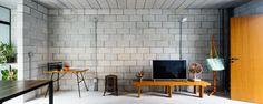 Vila Matilde House - Terra e Tuma Arquitetos - Brazil - Living Room - Humble Homes